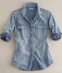 3. Chambray shirt