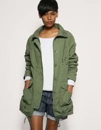 2. Military inspired jacket