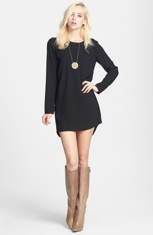 Tildon Scoop Back Shift Dress Original: $59 Sale: $38.90