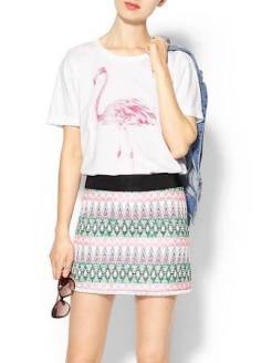Shop Sincerly Jules Flamingo Tee $32